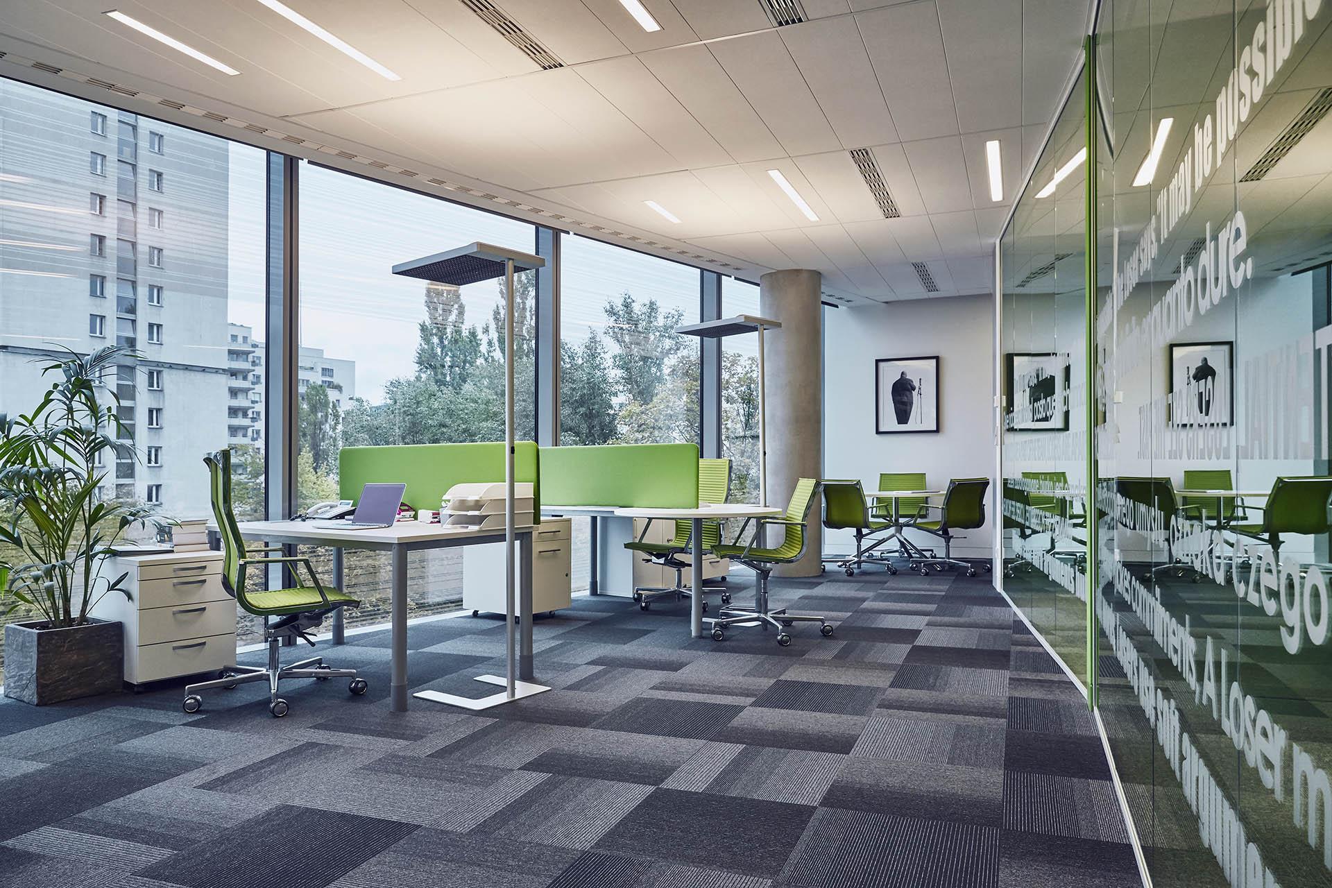 Przestrzeń biurowa w Apartamentowcu Cosmopolitan