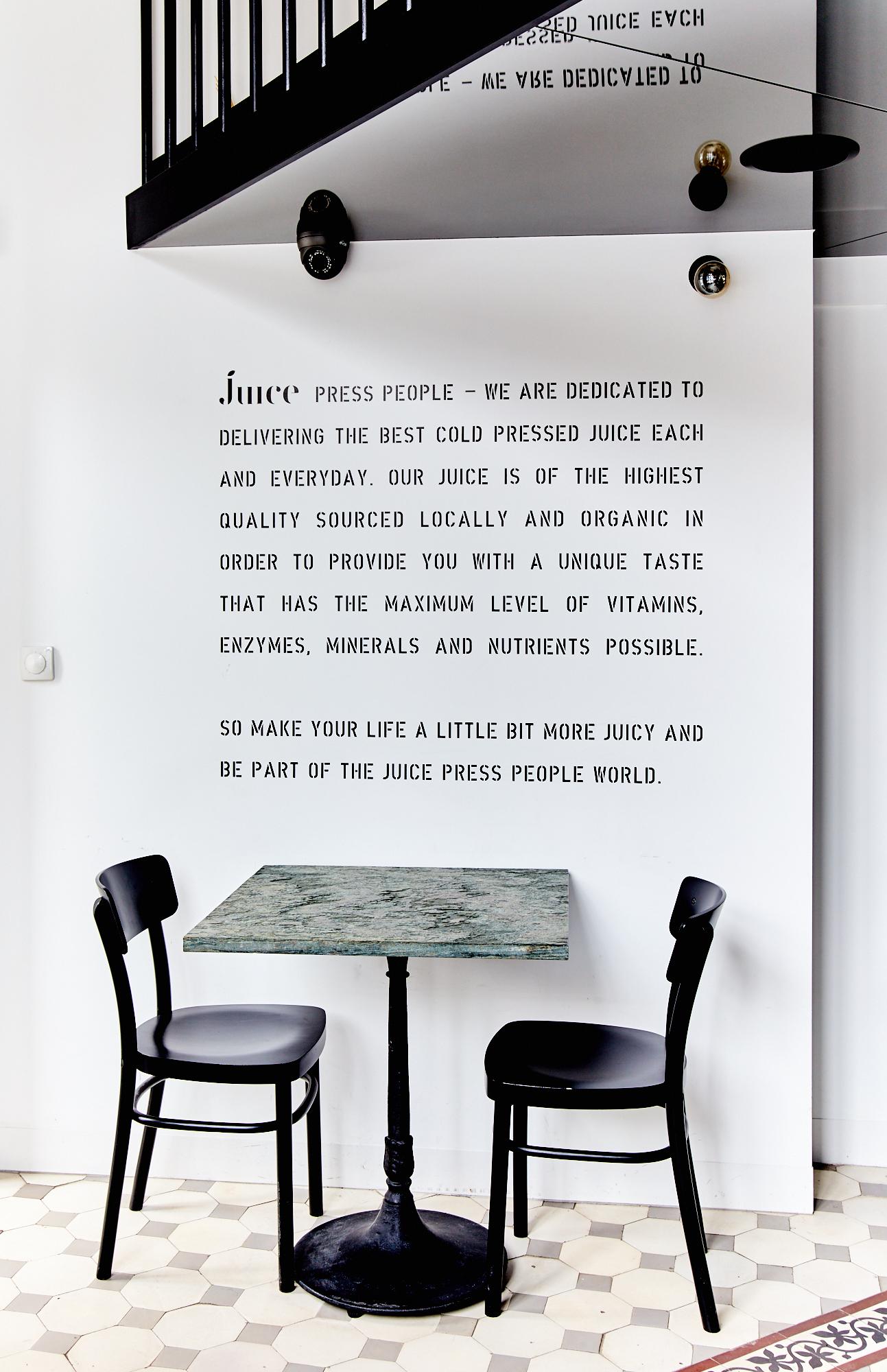 Juice press people